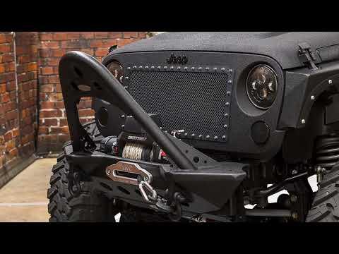 Jeep Wrangler Unlimited Rubicon HEMI SEMA Show Truck G - Exotic car show houston