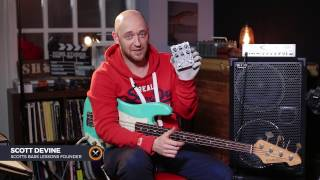 Cog Effects T47 Pedal Review /// Scott's Bass Lessons