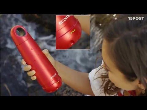 Esta botella inteligente analiza y purifica el agua que tomarás - 15 POST