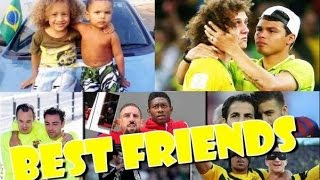 Best Friendships in Football ● Best Football Friends Compilation ● Funny Football Moments