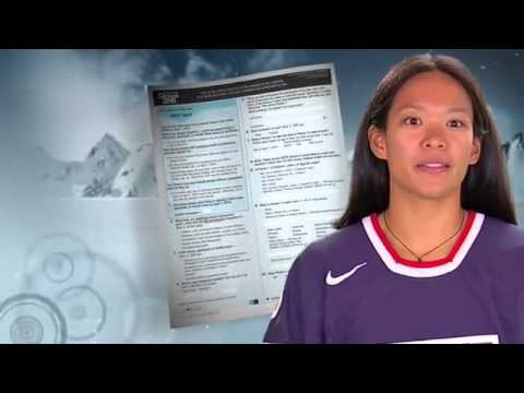 2010 US Census - Winter Olymipic Games - Julie Chu US Ice Hockey