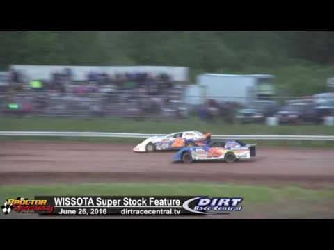 Proctor Speedway 6/26/16 Klopstein and LaBarge