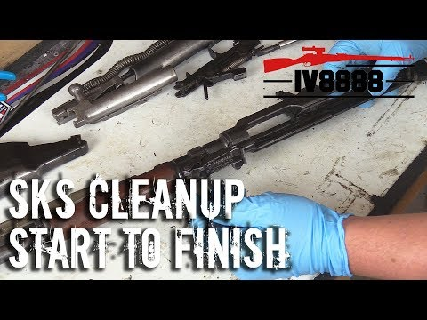 SKS Full Disassembly & Cleanup
