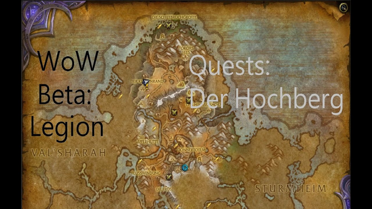 izocke wow beta legion quests in der hochberg 098 neltharions hort youtube. Black Bedroom Furniture Sets. Home Design Ideas