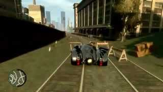 GTA IV - PC - Batmobile Mod