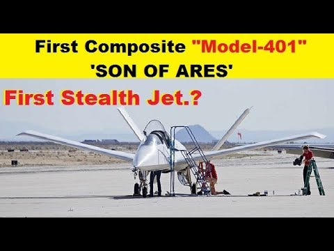 USAF 'SON OF ARES' Composite Model-401, First Stealth Jet.?