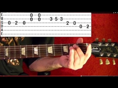 Guitar Lesson - BEATLES - A Hard Day's Night