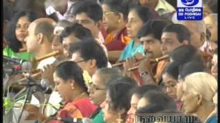167th Aradhana Festival of Saint Sri Thiyagaraja at Thiruvaiyaru (2014) Part 3 Pancharatna Kritis HD