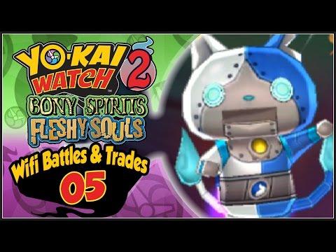 Yo-Kai Watch 2 - Wifi Battles & Trades With Subscribers Part 5: Robonyan F Giveaway!