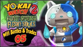 In Yo-Kai Watch 2, Abdallah hosts Wifi Battles and Trades with Subs...