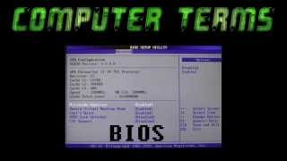 What is BIOS? (Basic Input Output System) - Computer Terms