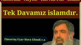 Timurtaş Hoca Efendi - Amerika - Afyon - Hz.Ali - r.a