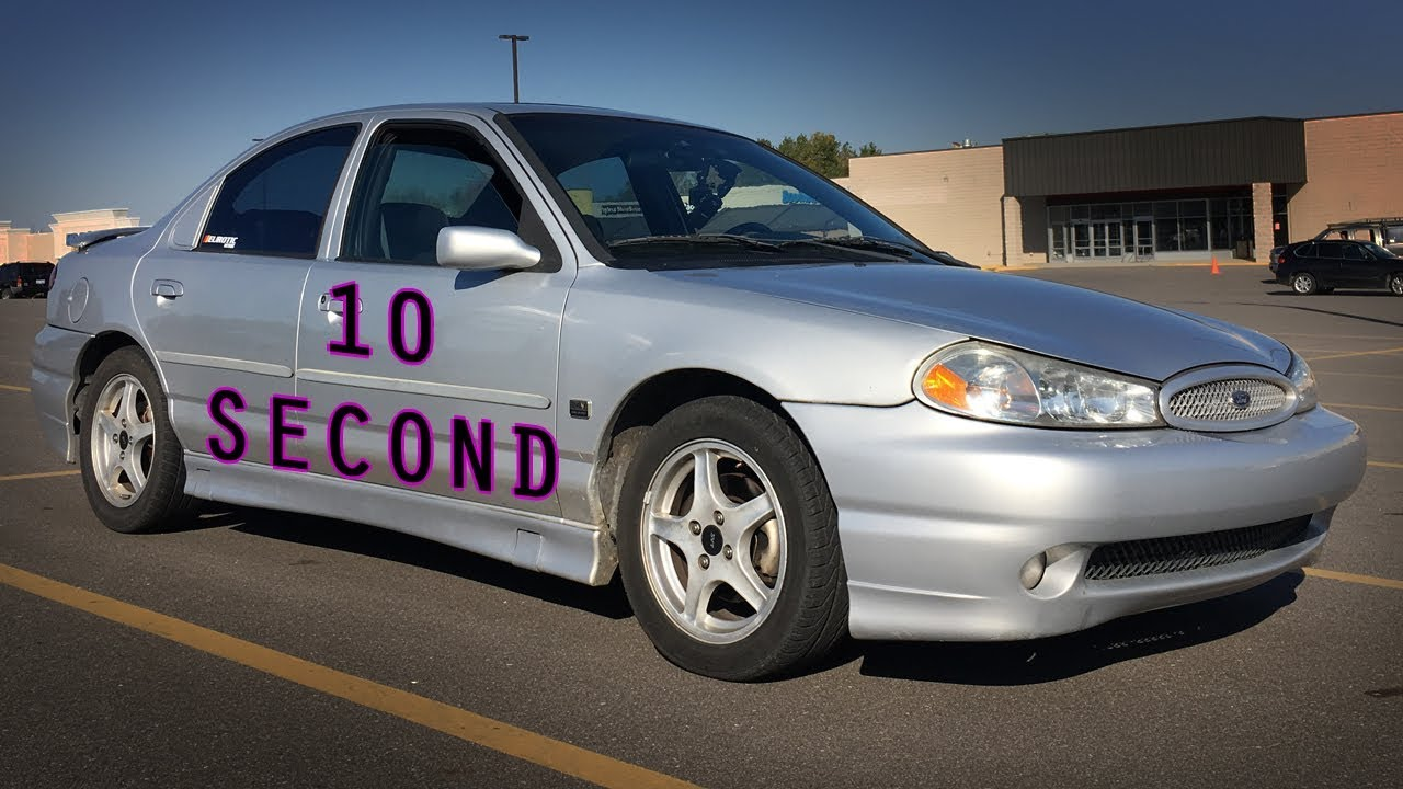 Ford contour svt 10 second review