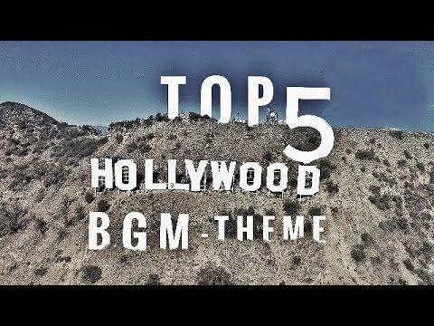 Top 5 Hollywood Theme Music  BGM Iconic Theme