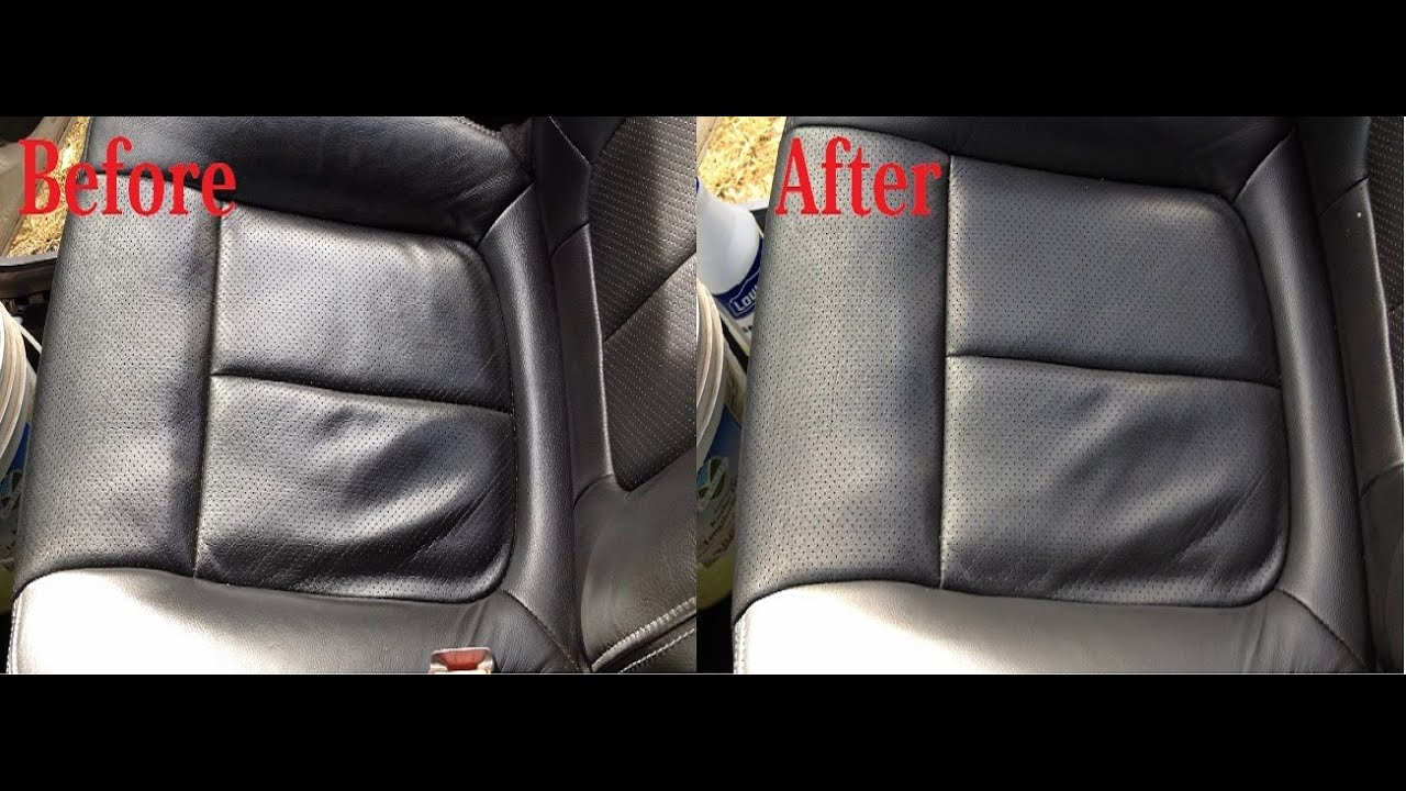 How To Clean Leather Car Seats Easy No Tools Required Guaranteed Results