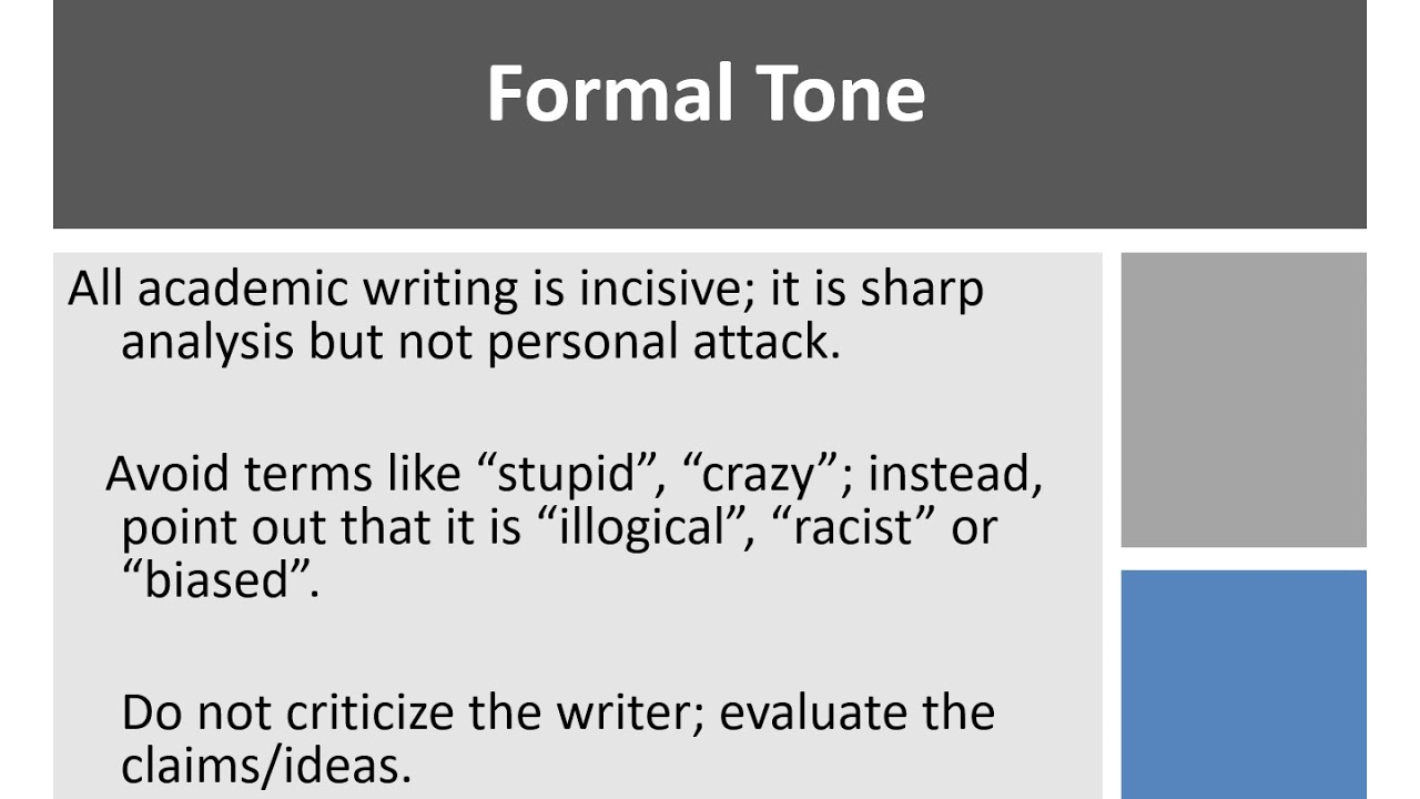 how to write proof paragraphs for a critical response