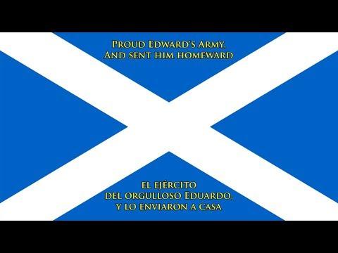 Himno de Escocia (EN/ES letra) - Anthem of Scotland