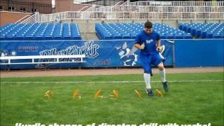 Advanced Agility Training With Kansas City Royals 2nd Baseman Johnny Giavotella