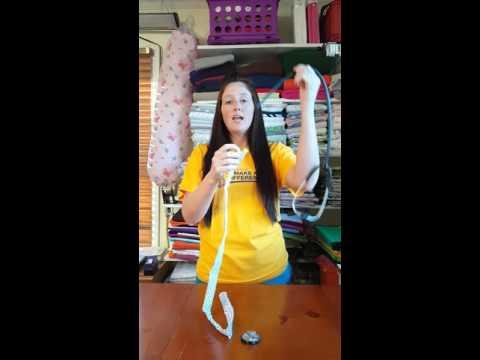 Sewn By Nancy stethoscope scrunchie tutorial