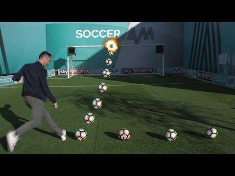 Robbie Keane | 10 Ball Crossbar Challenge!