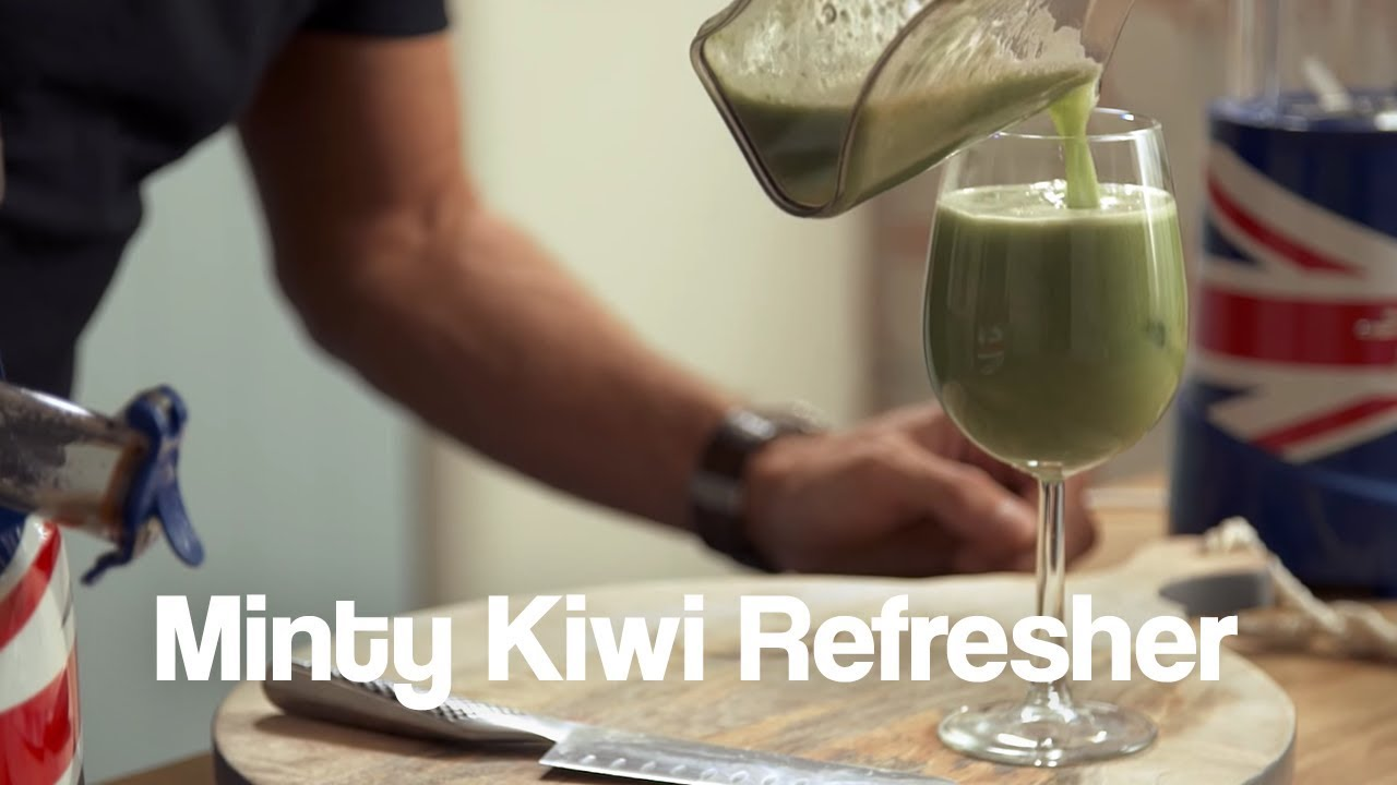 Minty Kiwi Refresher Jason Vale Juice Recipe