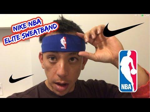 Nike NBA Statement Headband Sweatband Review