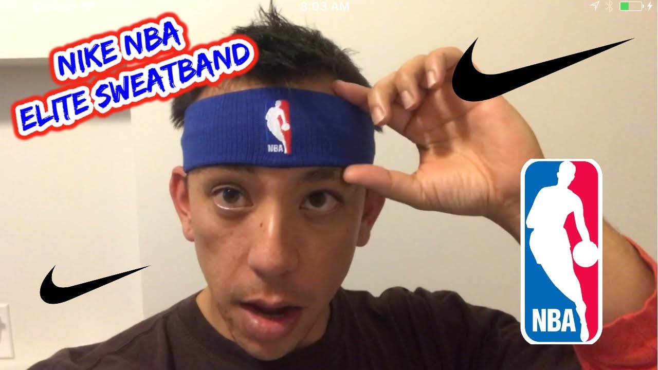 Nike NBA Statement Headband Sweatband Review - YouTube 672e0b26df2
