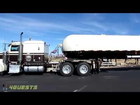 LPG TANKER, ARIZONA PROPANE TRANSPORT TRUCK