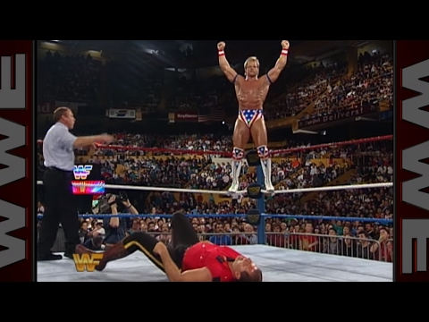 The All-Americans defend their country's honor against The Foreign Fanatics: Survivor Series 1993