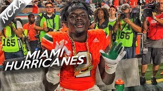 Miami Hurricanes Defensive Highlights vs Notre Dame // TURNOVER CHAIN // 11.11.17