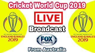 fox sports live streaming icc cricket world cup 2019 in Australia| fox sports live cwc 2019