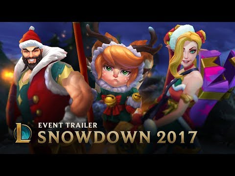 Be Your Best Santa | Snowdown 2017 Event Trailer - League of Legends