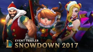 Be Your Best Santa | Snowdown 2017 Event Trailer - League of Legends