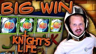 Big Win in Knight's Life slot!