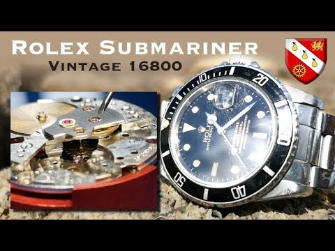 Vintage Rolex Submariner - Watchmaker Technical Overview