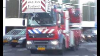 PRIO 1 TS23-1, TS44-1, AL44-1, AL31-1 GEBOUWBRAND, Rotterdam