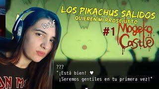 MOGEKO CASTLE capítulo 1: ¡esto lo elegísteis vosotros!/pikachus v/0lad0r3s quieren mi prosciutto