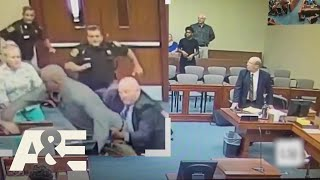 Court Cam: Man Charges at Lawyer with a Shank (Season 2) | A&E