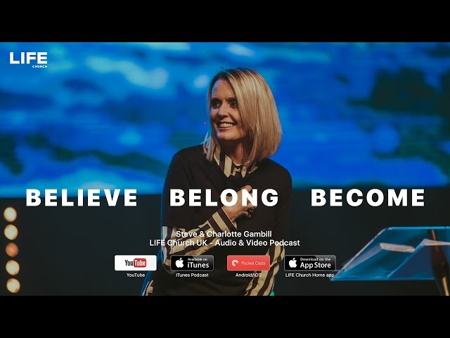 Charlotte Gambill | Believe - Belong - Become