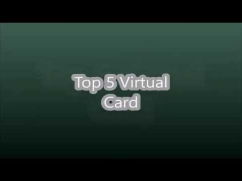 Top 5 best Virtual Credit/ Debit Cards