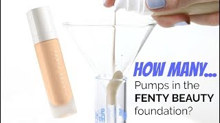 THE MAKEUP BREAKUP - How Many Pumps in Fenty Beauty Pro Filt'r Foundation? | Destroying Makeup