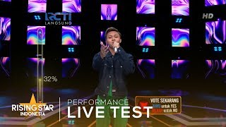 Download lagu Rizky Febian Menari Live Test Rising Star Indonesia 2019
