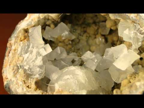 The McCammon Collections - Vol 6 -  Millerite Geode, Halls Gap, Lincoln County, Kentucky
