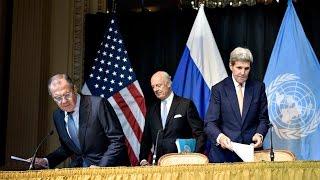 """بعد تهديدات كيري لروسيا """"للصبر حدود""""..لافروف يرد عليه باستهزاء..ويعلن هدنة جديدة في حلب-تفاصيل"""