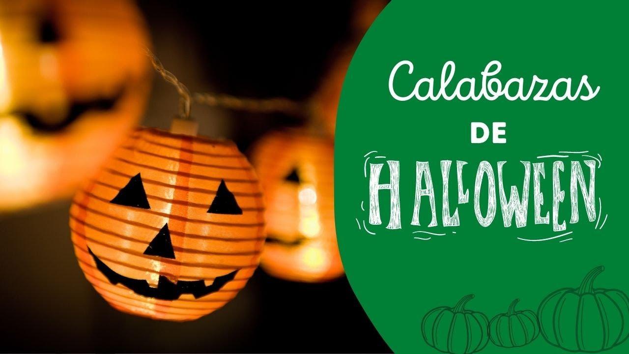Cómo Hacer Calabazas De Halloween Con Manualidades 7 Ideas Diy Youtube
