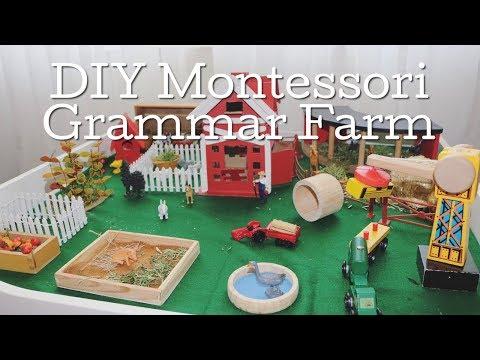 DIY Montessori Grammar Farm