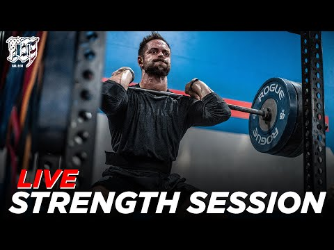 LIVE Lifting Session w/RICH FRONING // Mayhem Burgener Strength 1.12.21