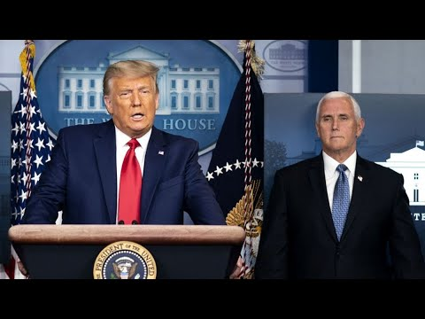 Trump, Pence Agree to Work Through End of Term, Official Says