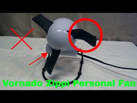 ✅  How To Use Vornado Zippi Personal Fan Review