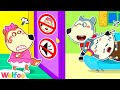 Lucy, Stop Making Noise! Daddy Needs to Rest - Wolfoo Learns Good Behavior for Kids | Wolfoo Channel